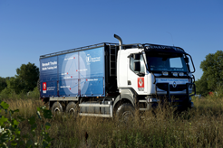 Renault Trucks con el Programa Mundial de Alimentos