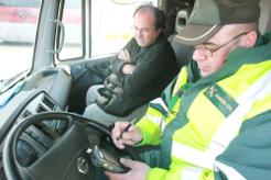 El exceso en las horas de conducción y el tacógrafo las infracciones más habituales
