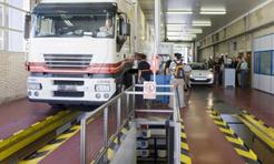 Prueba de frenado obligatoria para los vehículos pesados desde el 1 de julio
