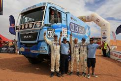 MAN se hace con la victoria en el Rally Oilibia en Marruecos