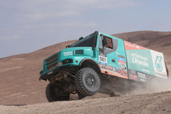 De Rooy sa mantiene líder en Dakar tras la décima etapa
