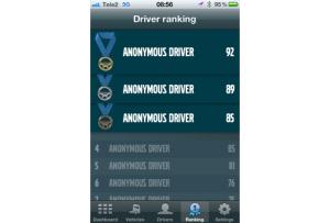 Volvo Dynafleet, Android, app para camiones