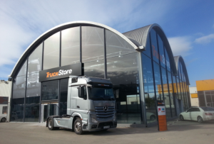 Nuevo Truckstore de Mercedes-Benz en Valencia, camiones usados