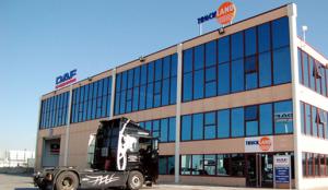 Truckland, concesionario DAF