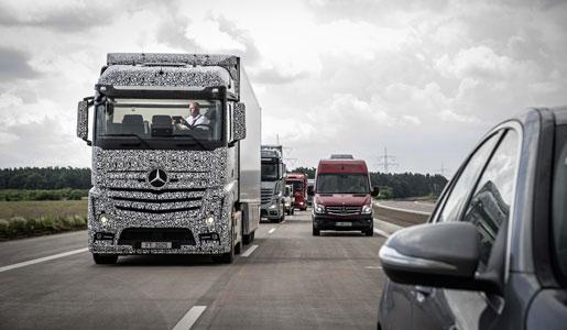 Camión autónomo de Mercedes, Truck Future 2025