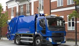 Nuevo Volvo FE de gas metano