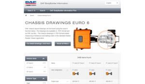DAF mejora su página web para el sector carrocero