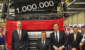 Un millón de camiones DAF