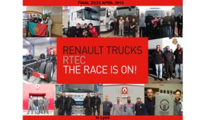 La competición Postventa de Renault Trucks ya tiene finalistas ibéricos