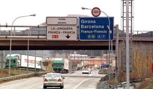 Controles velocidad camiones Francia