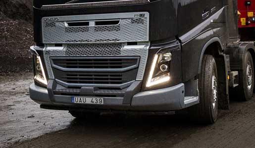 parachoques del Volvo FH