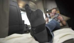 Francia aclara la prohibición de dormir en el camión