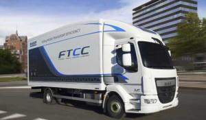 DAF reduce la tara de un prototipo del LF en 500 kg