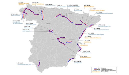 RACC de Cataluña pide los peajes obligatorios para camiones