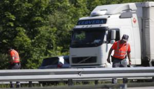 2046 euros de multa para la empresa de transportes del conductor asesinado en Navarra