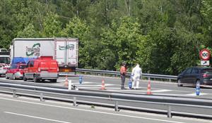 Un policía vasco dispara a un conductor durante una discusión de tráfico