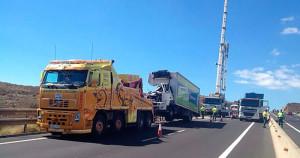En Canarias los vehículos de auxilio en carretera ya no tienen el amarillo como color identificativo, a pesar de las protestas de los empresarios del sector.