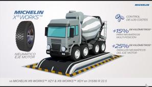 Michelin X Works un neumático para cada actividad de obras más garantía de daños accidentales gratuita
