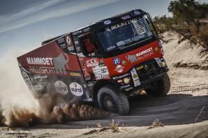 El equipo de Truck Racing de Renault ha quedado segundo en el Rally de Libia con lo que se asegura la fortaleza del equipo Renault para el Dakar 2017.