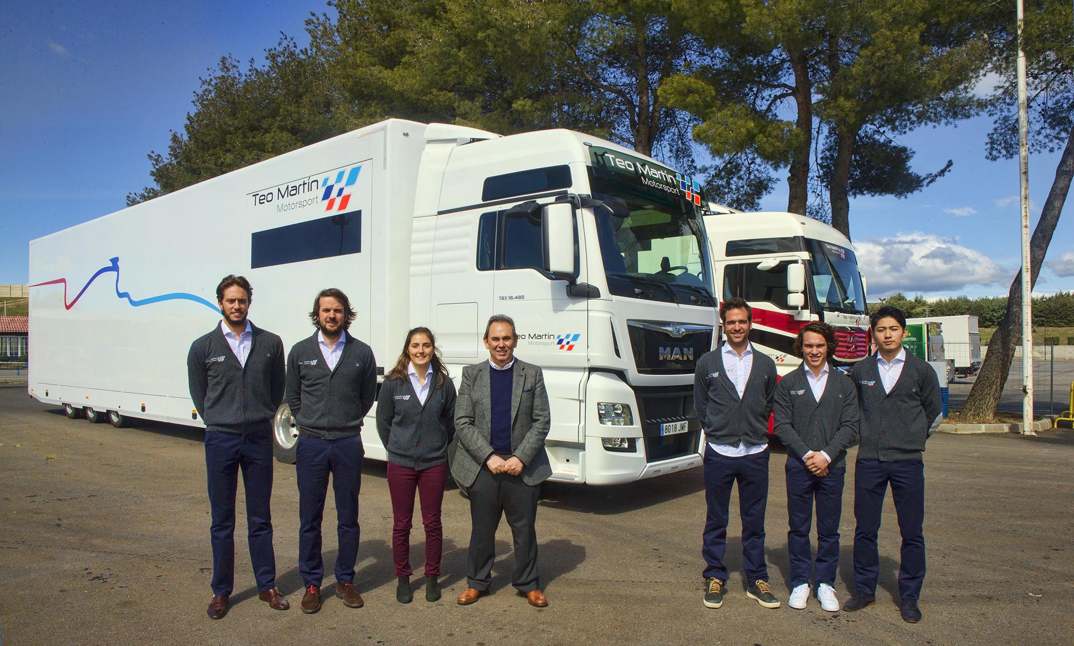 El equipo de velocidad en circuito Teo Martin adquiere tres tractoras MAN TGX.