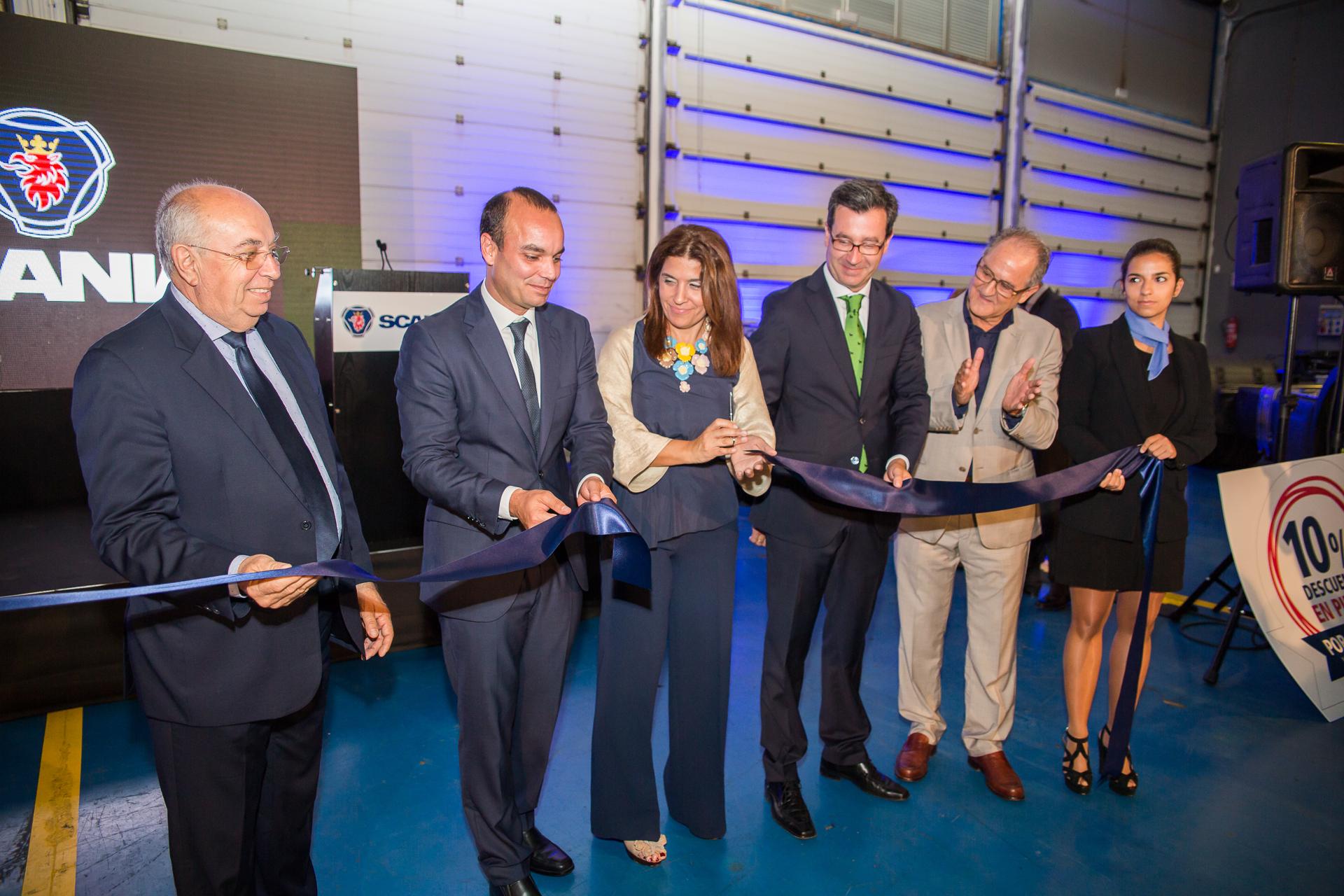 Scania inaugura concesionario en Las Palmas de Gran canaria