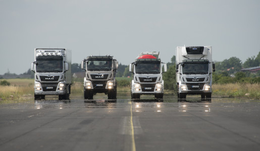 Nueva gama de camiones MAN 2016