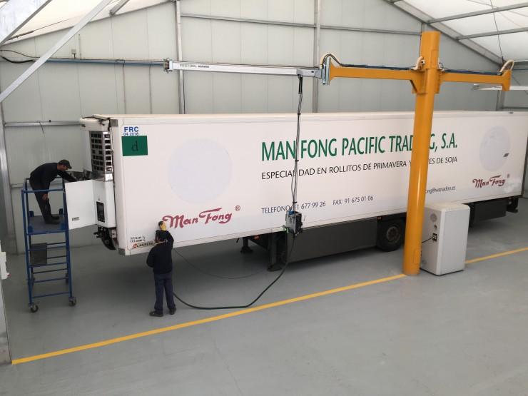 Lecitrailer cuenta con nuevas instalaciones en sus centros postventa para el mantenimiento y reparación de vehículos frigoríficos