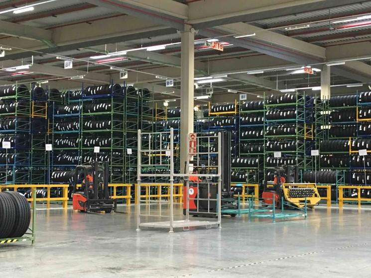 Michelin inaugura una plataforma logística en Illescas.