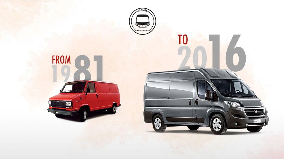 El Fiat Ducato cumple 35 años y lo hace más joven que nunca.