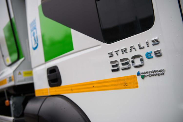 El Ayuntamiento de madrid ha comprado 109 Stralis de Gas Natural para la recogida de residuos en Madrid.