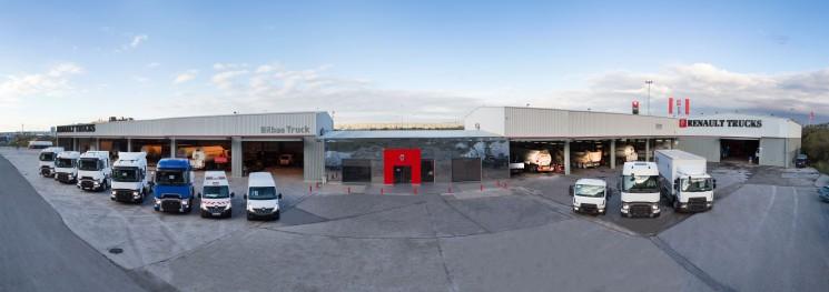 Renault Trucks inaugura punto de red en el puerto de bilbao
