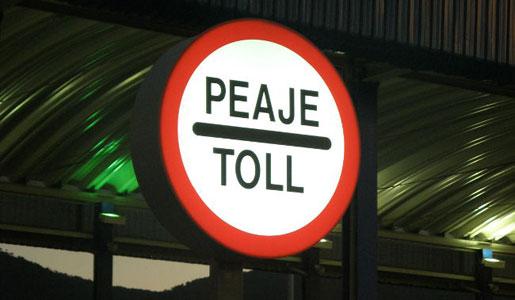Se están realizando detenciones de camiones en Bélgica por supuestos impagos del peaje.