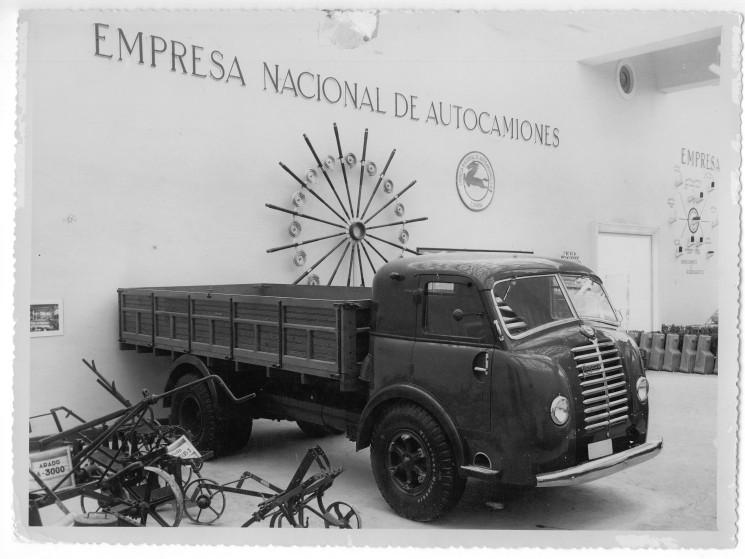 El Pegaso I fue el primer camión Pegaso aunque era heredero del 66-G de Hispano Suiza.