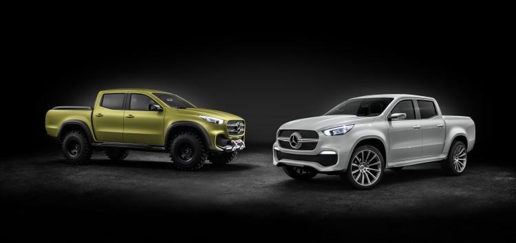 Mercedes-Benz anuncia la comercilización de una nueva pick-up para finales de 2017.