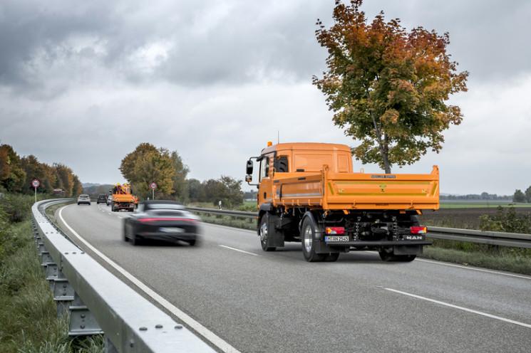 MAN trabaja junto con otros socios en el desarrollo de un camión sin conductor para protección en autopistas.