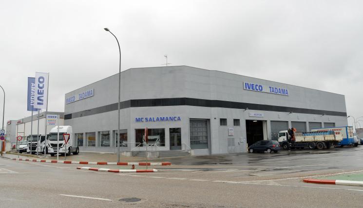 Iveco acaba de inaugurar un nuevo punto de red de venta y postventa en Salamanca.