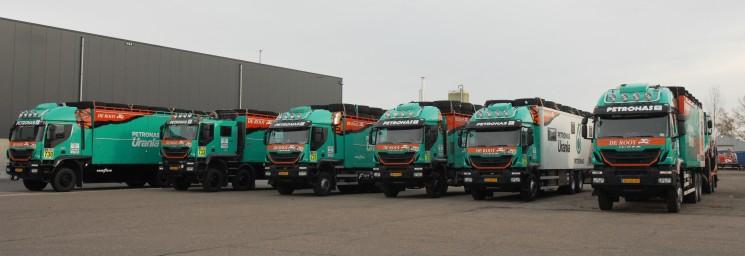 El equipo Petronas De Rooy Iveco ha puesto rumbo al Dakar 2017 dispuesto a repetir el primer puesto del año pasado.