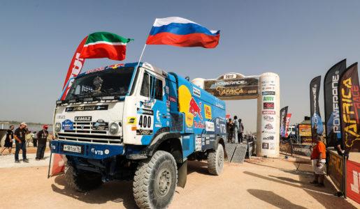 Kamaz se hace con el Dakar 2017