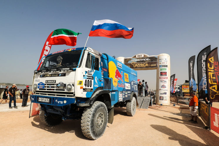 El equipo ruso kamaz se hace con la victora del Dakar 2017.