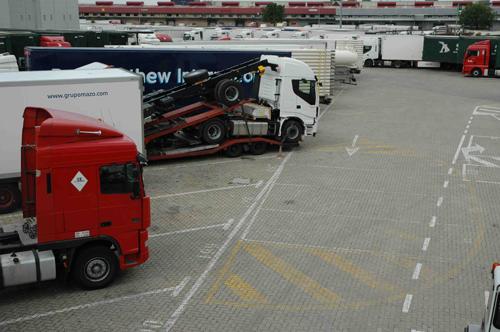 Restricciones para la circulación de camiones en Italia en 2017.