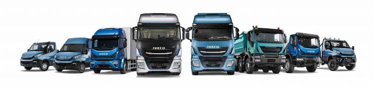 Iveco es líder en matriculaciones en 2016 en todas las gamas
