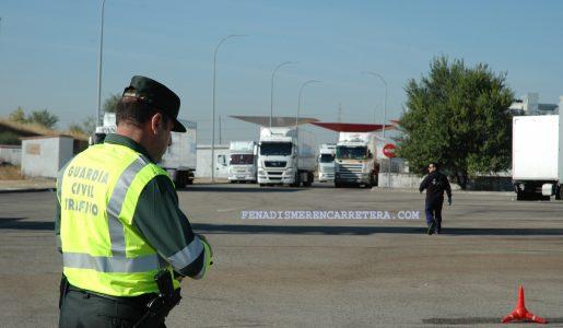 Campaña de la DGT de control de camiones y furgonetas