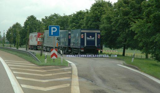 La justicia europea en contra del descanso a bordo del camión