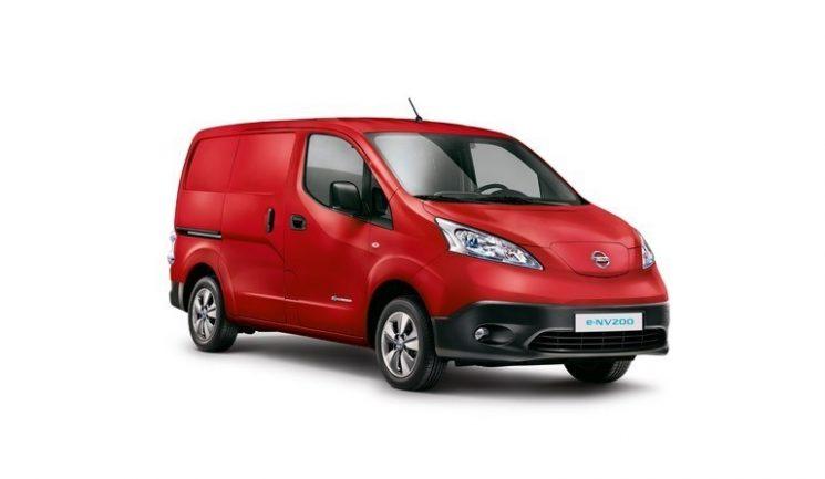 La e-NV-200 de Nissan es la furgoneta 100% eléctrica más vendida en Europa.