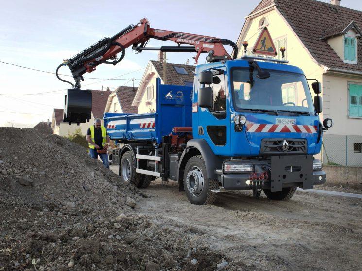 La gama D de Renault Trucks dispone de un equipamientoque la hace inmune al frio.