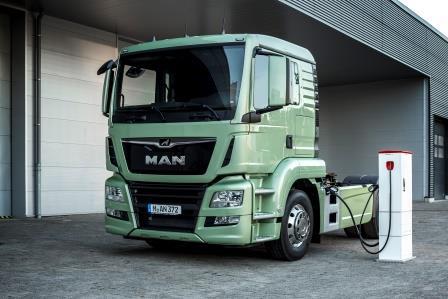 MAN empezará a fabricar camiones eléctricos de serie en 2021