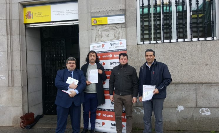 Fetram y Fegatramer denuncian la cesión ilegal de trabajadores a la que obligan las empresas de paquetería a los conductores.