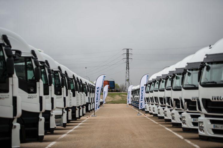 Iveco ha inaugurado el primer centro OK TRUCKS en Madrid para vehículos usados.
