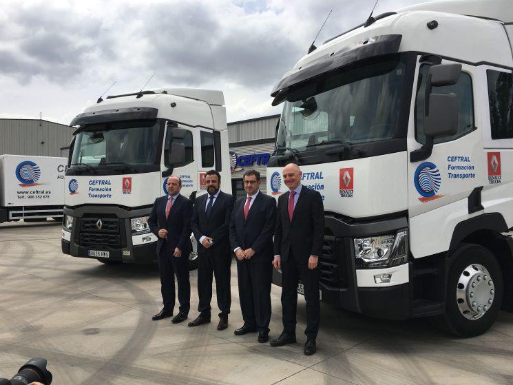 Renault Trucks confía en la formación como la forma de conseguir la máxima eficiencia en el uso del vehículo
