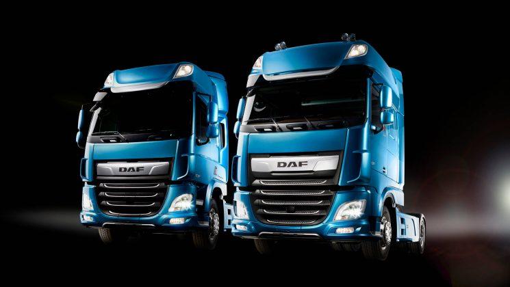 DAF presenta la nueva generación de camione CF y XF que reduce un 7% el consumo de combustible con respecto a la actual generación.